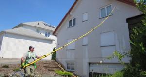 Fassadenreinigung ohne Gerüst