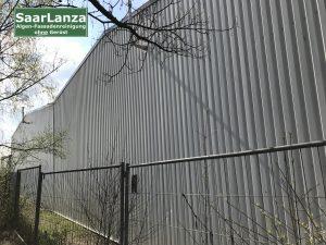 Fassadenreinigung Industriehalle
