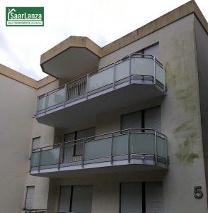 Grünalge an der Fassade