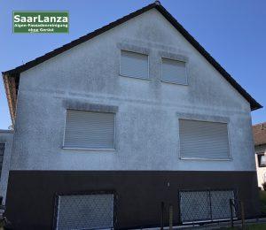 Saarlanza Fassadenreinigung, Objekt vor der Fassadenreinigung